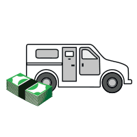 NationalLink Vault Cash & Armored Services Vault Truck Icon Homepage