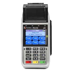Merchant Services Payment Solutions First Data 410 Photo